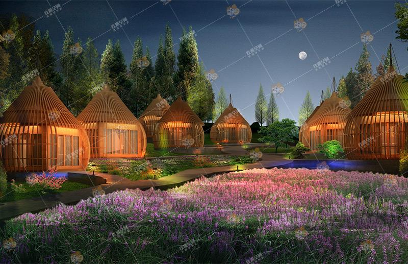 《隐栖·玲珑C》系列, 玖米度假木屋,木屋价格/图片/设计