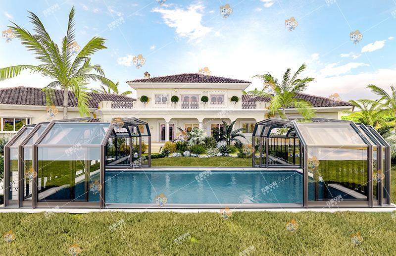泳池阳光房