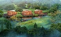 一款度假屋的设计灵感,竟是秋日的一片银杏叶
